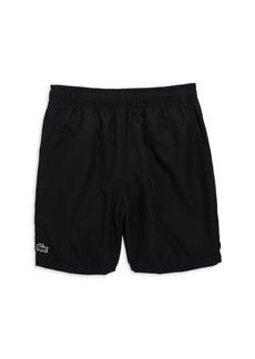 Lacoste Boy's Taffeta Tennis Shorts