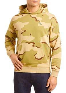 Lacoste Camo Hooded Sweatshirt