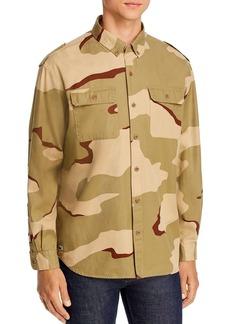 Lacoste Camo Regular Fit Button-Down Shirt - 100% Exclusive