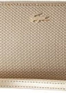 Lacoste Chantaco Holidays Large Wristlet Zip Wallet