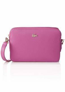 Lacoste Chantaco Leather Square Shoulder Bag