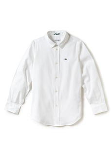 Lacoste Classic Oxford Shirt (Big Boys)