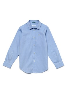 Lacoste Classic Oxford Shirt (Big Boys)