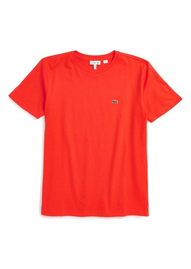 Lacoste Crewneck T-Shirt (Big Boys)