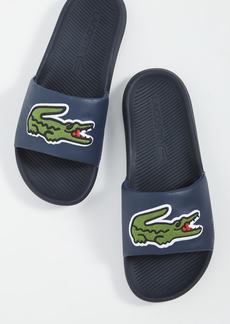 Lacoste Croco 120 Pool Slides