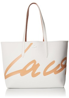 Lacoste Daily Classic Satchel with Shoulder Strap Marble/Cliff-Cliff