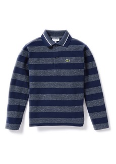 Lacoste Fancy Stripe Polo Shirt (Toddler Boys & Little Boys)