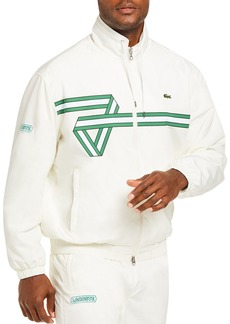 Lacoste Heritage Regular Fit Taffeta Track Jacket