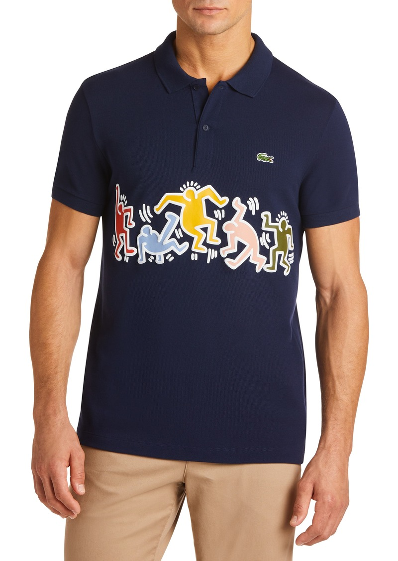 best service 7b3e6 ce0aa x Keith Haring Regular Fit Polo