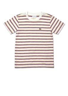 Lacoste Kids' Tricolor Stripe T-Shirt (Toddler & Little Boy)
