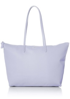 Lacoste L.12.12 Concept Large Shopping Bag BLACK/BLIZZARD-MOTHER OF PEARL-CEMENT