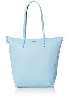 Lacoste L.12.12 Concept Vertical Shopping Bag Azurine Blue/Eclipse Blue-White