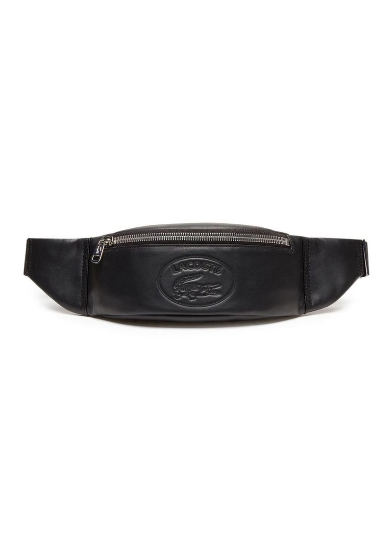 Lacoste Leather Logo Belt Bag