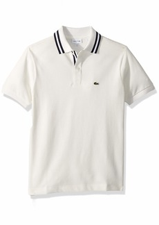 Lacoste Little Boy Long Sleeve Hooded Pique Polo