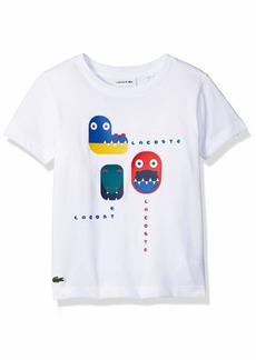 Lacoste Little Boy Short Sleeve Video Game Print Tee Shirt