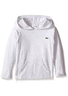 Lacoste Little Boys Long Sleeve Cotton Jersey Hoodie T-Shirt