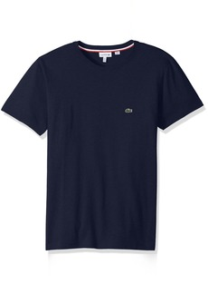 Lacoste Little Boys' Short Sleeve Solid Crew Tee Shirt