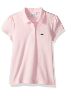 Lacoste Little Girl Short Sleeve Mini Pique Iconic Polo