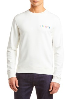 Lacoste Logo Embroidered Crewneck Sweatshirt