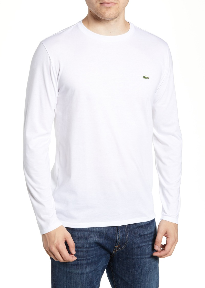 2d7fd1264940f3 Lacoste Lacoste Long Sleeve Pima Cotton T-Shirt