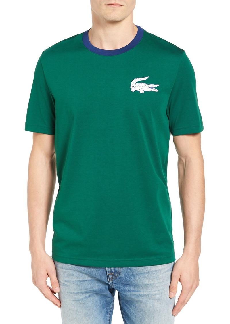 Lacoste L!VE Croc Patch T-Shirt