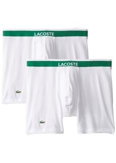 Lacoste Men's 2-Pack Colours Cotton Stretch Boxer Brief