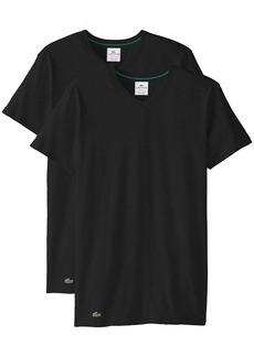 Lacoste Men's 2-Pack Colours Cotton Stretch V-Neck T-Shirt