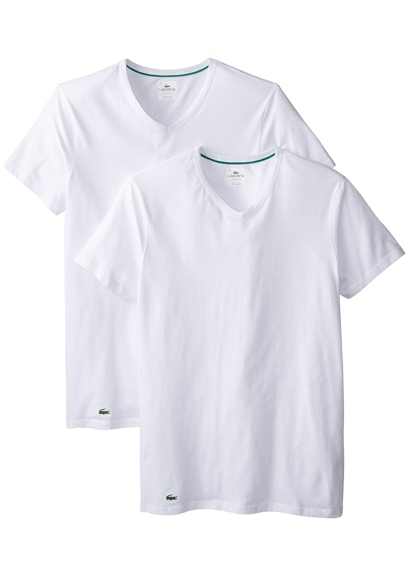 38c11665 Men's 2-Pack Colours Cotton Stretch V-Neck T-Shirt