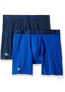 Lacoste Men's 2PK Ultra Dry Sport Boxer Brief  L