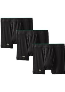Lacoste Men's 3-Pack Essentials Cotton Boxer Brief