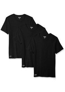 Lacoste Men's 3PK Supima Cotton Slim Fit Crew Neck Tee  XL