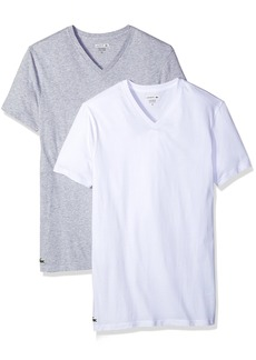 Lacoste Men's Amazon 2 Pk V Neck Tee