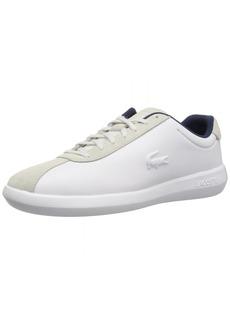 Lacoste Men's AVANCE Sneaker White Leather  Medium US