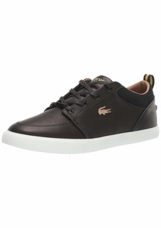 Lacoste Men's BAYLISS Shoe BLACK/OFF-WHITE  Medium US