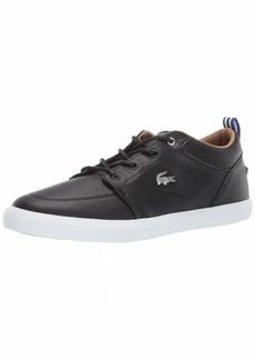 Lacoste Men's Bayliss Sneaker black//white  Medium US