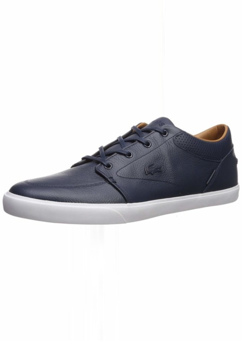 Lacoste Men's Bayliss Vulc Premium Fashion Sneaker DKBLU/DKBL