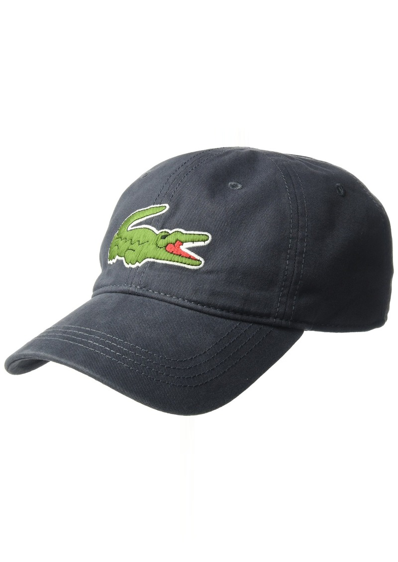 f981eb5ee82 Lacoste Lacoste Men s Big Croc Gabardine Cap