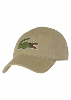 Lacoste Men's Big Croc Gabardine Cap  ONE