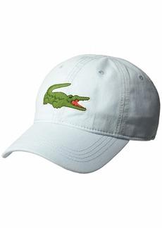 Lacoste Mens Big Croc' Gabardine Cap RILL ONE