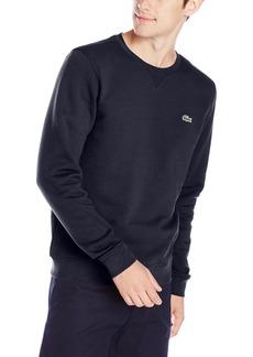 Lacoste Men's Brushed Fleece Crew Neck Sweatshirt  4X-Large