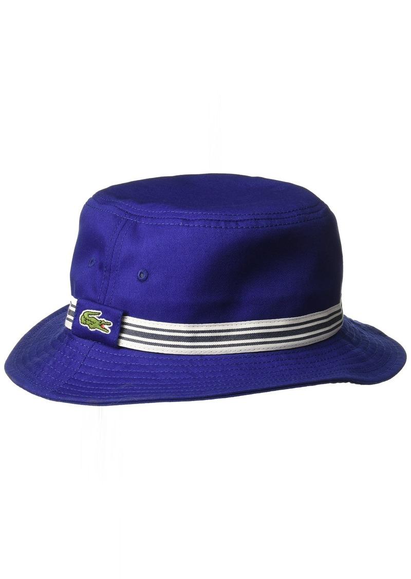 bd83f6af81e Lacoste Lacoste Men s Bucket Hat W Stripe Detail S M
