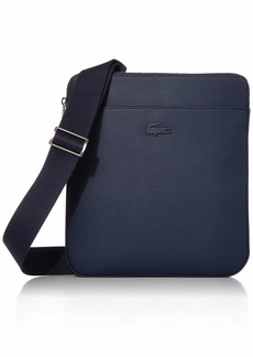 Lacoste Men's CHANTACO Flat Crossover Bag Marble Cliff