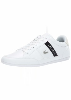 Lacoste Men's Chaymon Sneaker white/black  Medium US