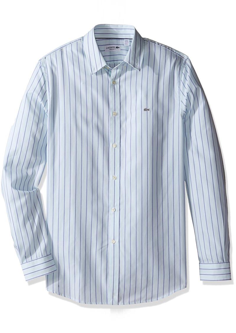 abadc2461dcd Lacoste Lacoste Men s City Long Sleeve Stripe End CH9857-51