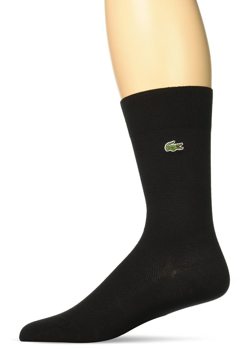 Lacoste Men's Classic Jersey Crew Sock
