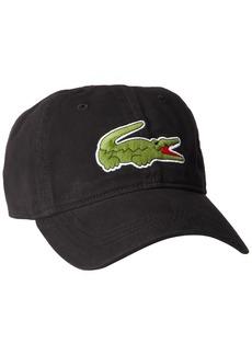 615fe855652 Lacoste Lacoste Men s Classic Large Croc Gabardine Cap