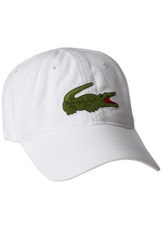 """Lacoste Men's Men's """"big Croc"""" Gabardine Cap"""