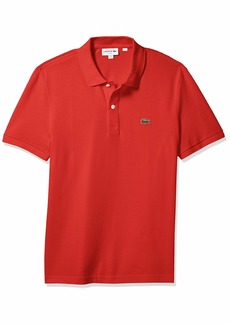 Lacoste Men's Legacy Classic Pique Slim Fit Short Sleeve Polo Shirt  L