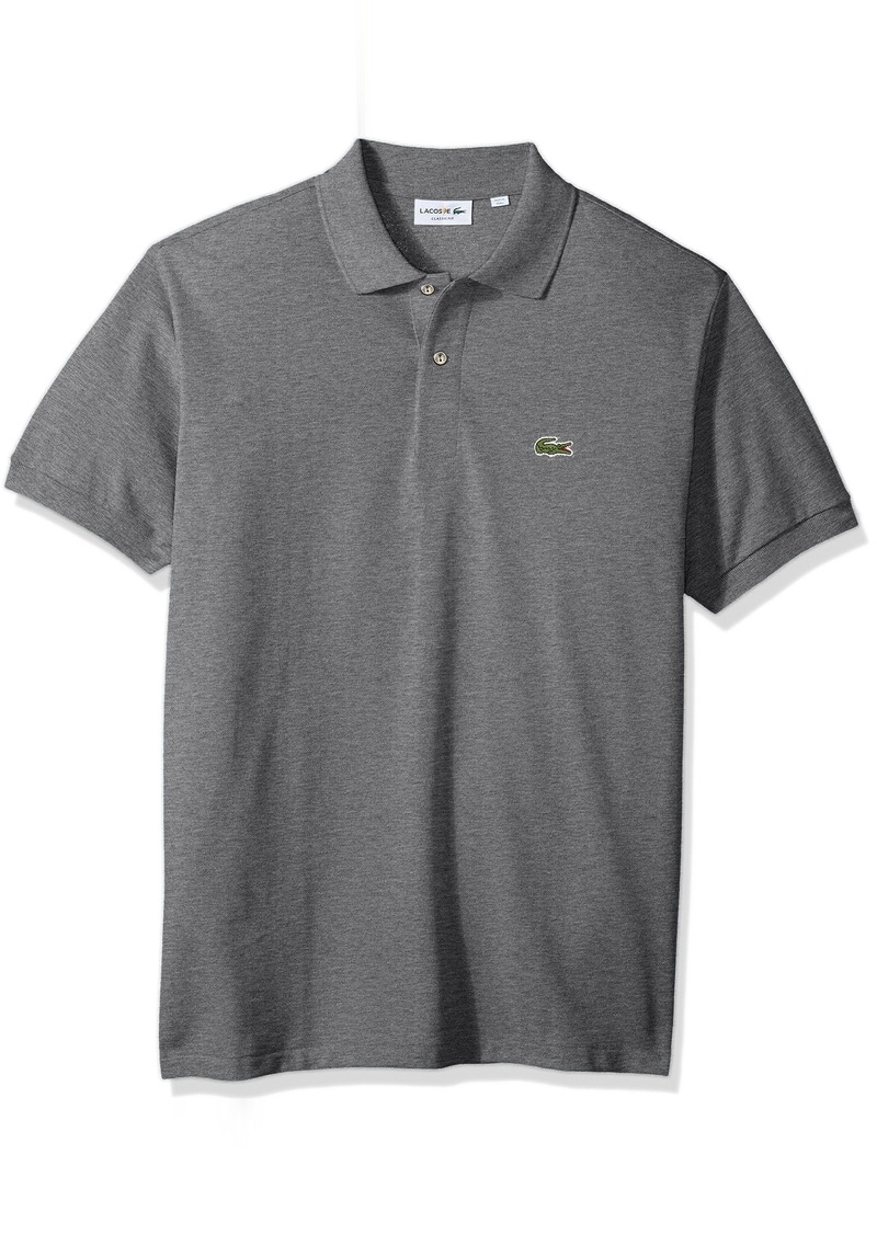 Lacoste Men's Classic Short Sleeve Chine Pique Polo Shirt Galaxite