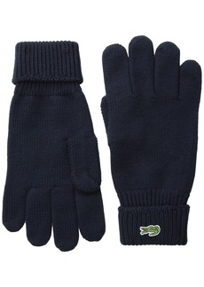 Lacoste Men's Classic Wool Gloves